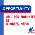 Call for Volunteers at CliMates Nepal