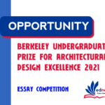 Berkeley Undergraduate Prize for Architectural Design Excellence 2021